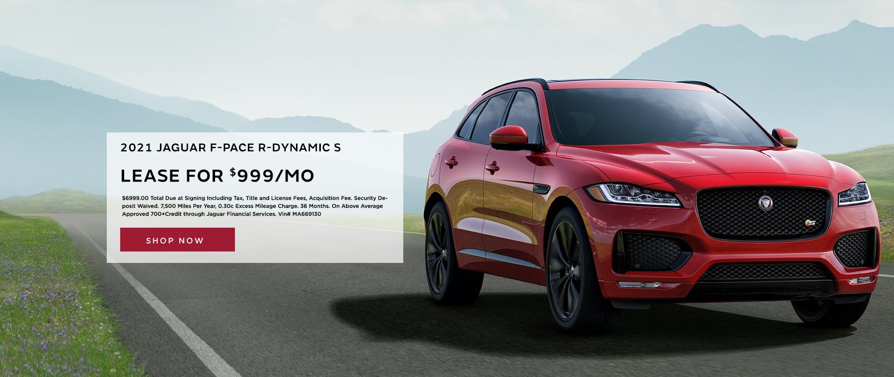 jaguar f pace dynamic
