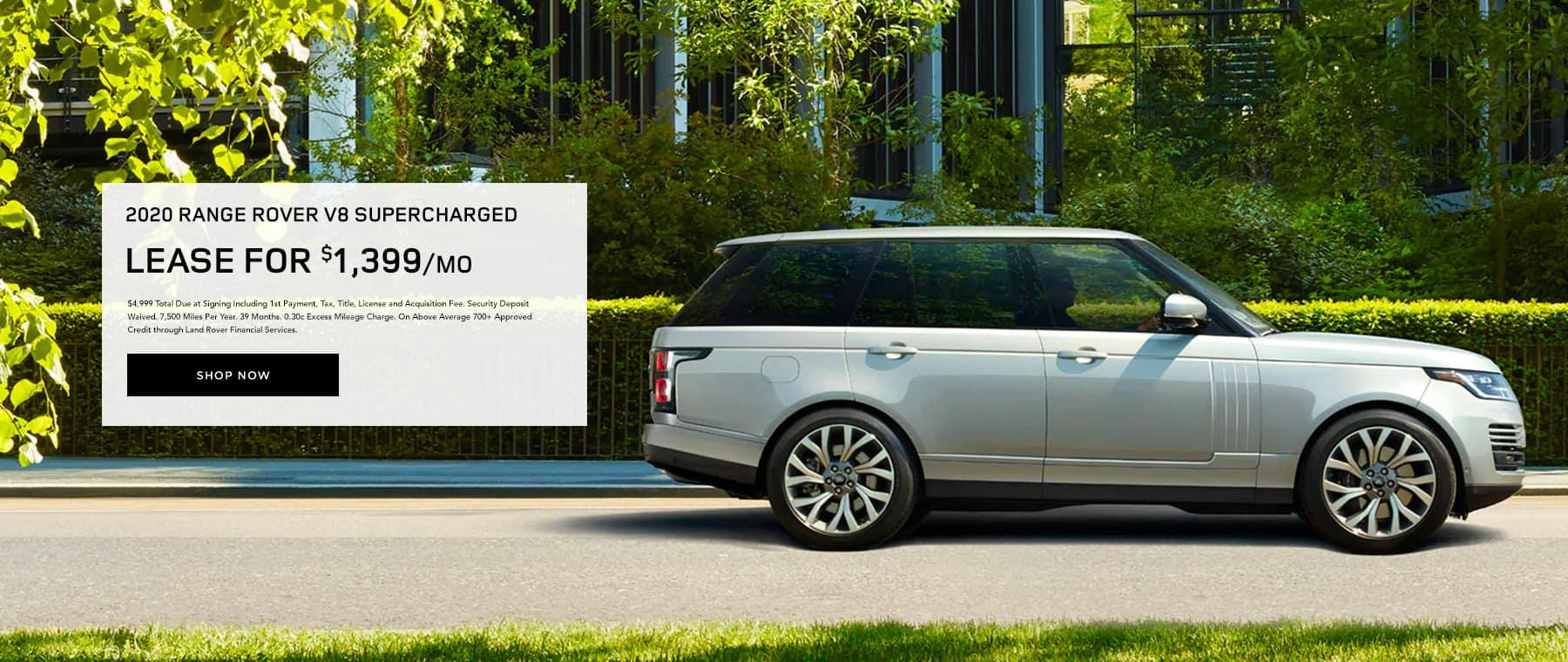 Range Rover V8 Lease