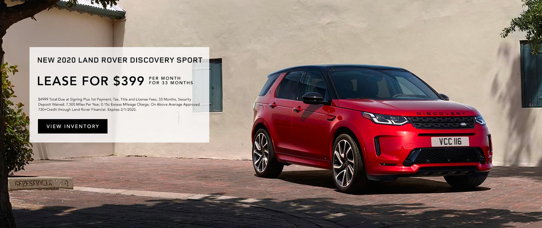 Lease 2020 Discovery Sport