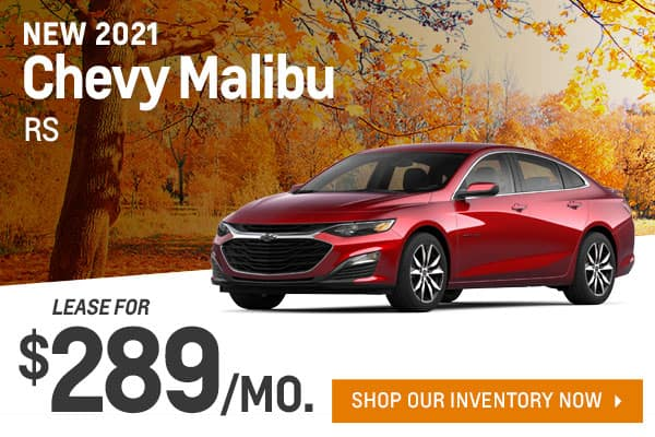 New 2021 Chevy Malibu RS
