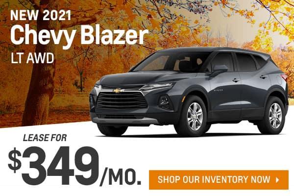 2021 Chevy Blazer LT AWD