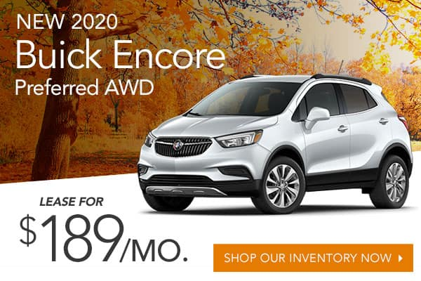 New 2020 Buick Encore Preferred AWD