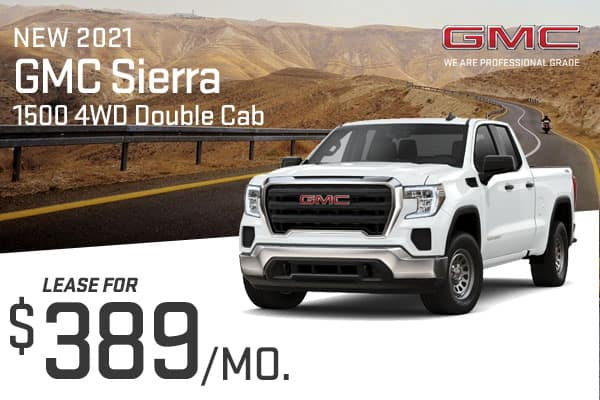 New 2021 GMC Sierra 1500 4WD Double Cab