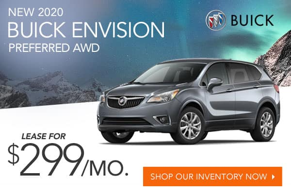New 2020 Buick Envision Preferred AWD