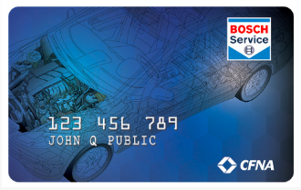 BOSCH Service Credit Card