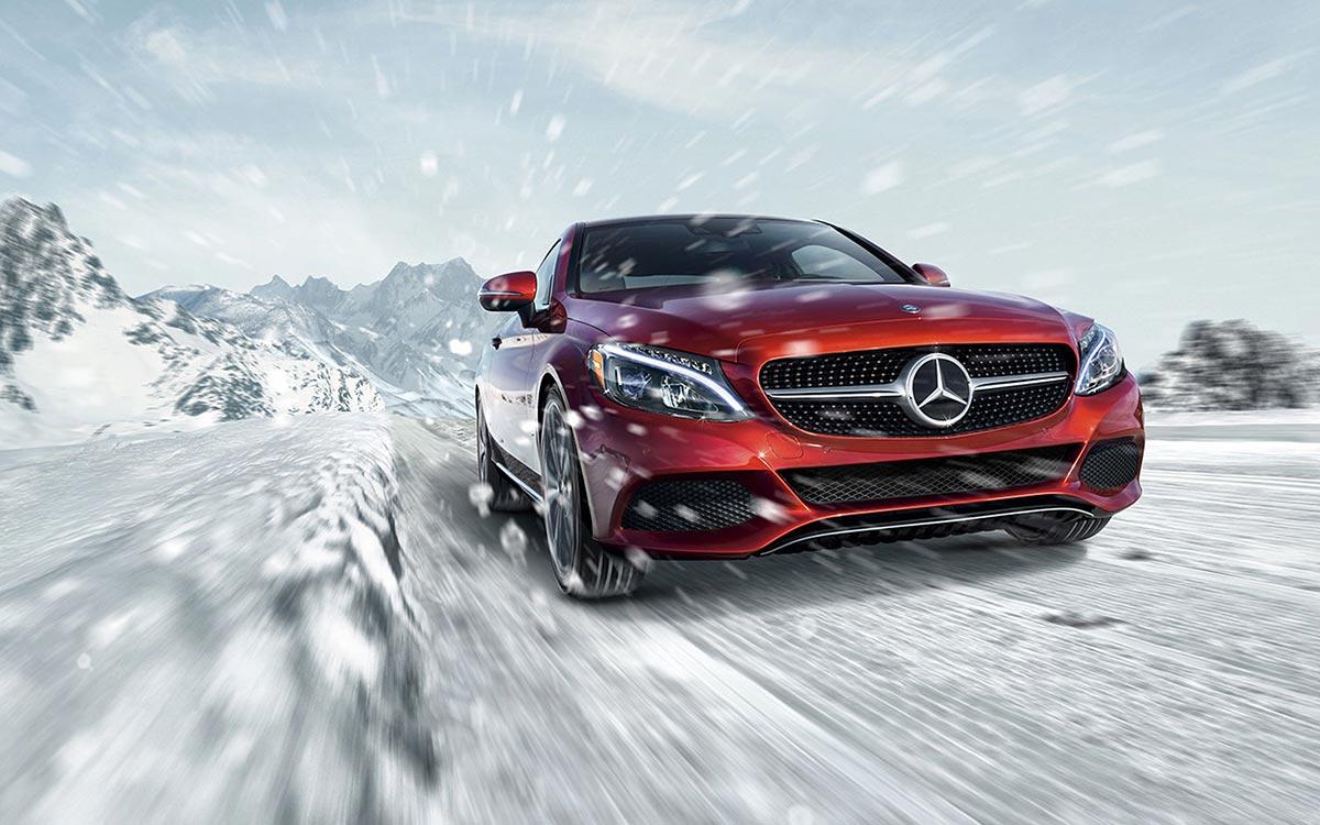 2017-C300-Coupe Snow