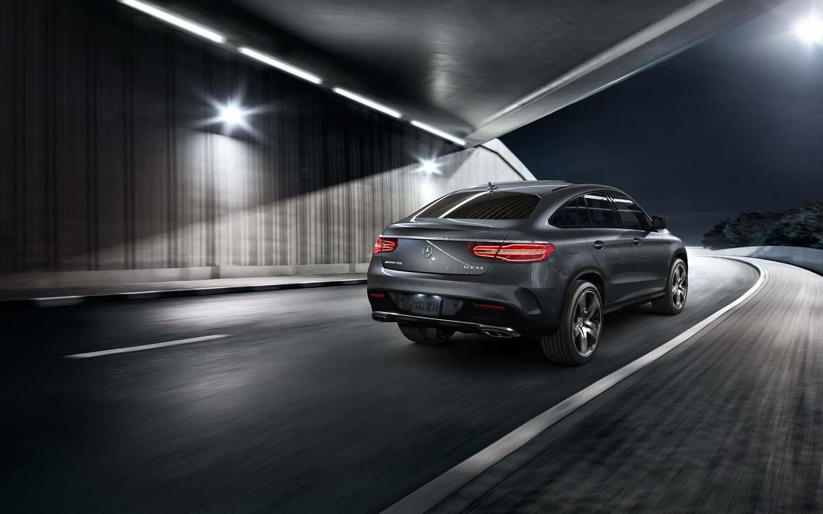 Mercedes-Benz GLE Coupe Rear exterior