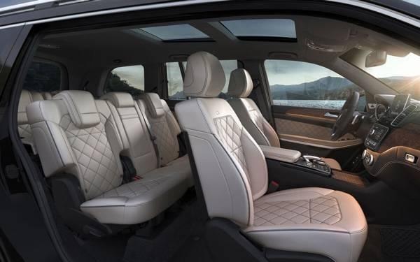2017 Mercedes-Benz GLS interior seating