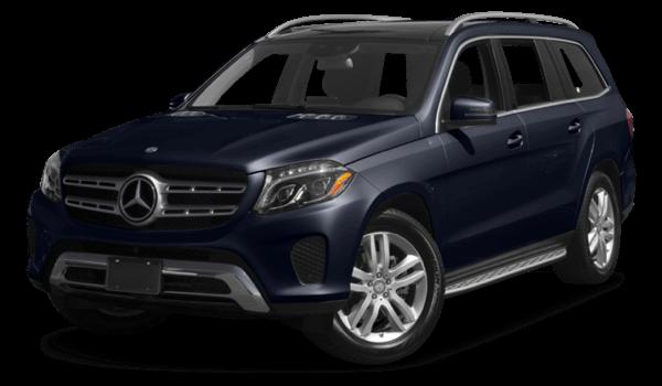 2017 Mercedes-Benz GLS dark exterior model