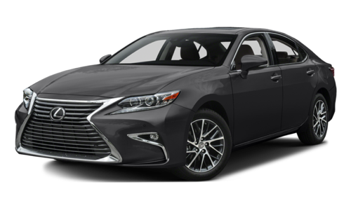 2017 Lexus ES 350 white background