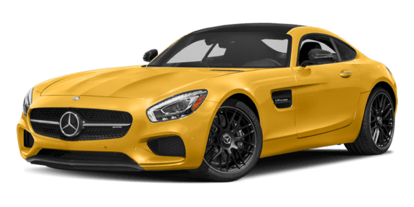 2017 Mercedes-Benz AMG GT Coupe yellow exterior model