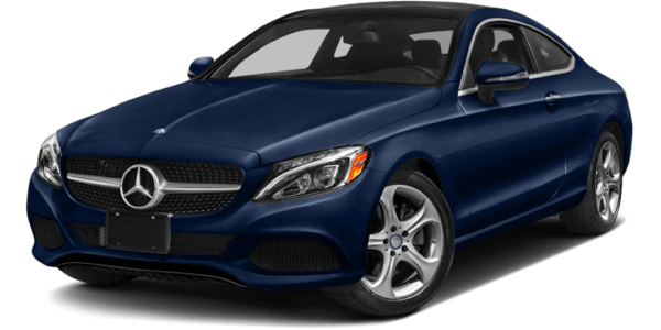 2017 Mercedes-Benz C-Class blue exterior model