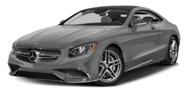 2017 Mercedes-Benz S-Class AMG Coupe white background