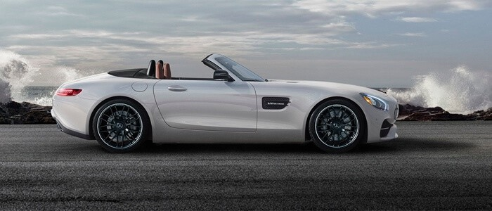 2017 Mercedes-Benz AMG GT Roadster side view