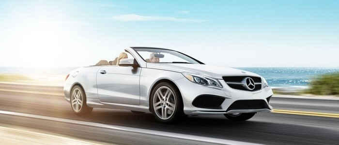 2017 Mercedes-Benz E-Class Cabriolet white exterior model