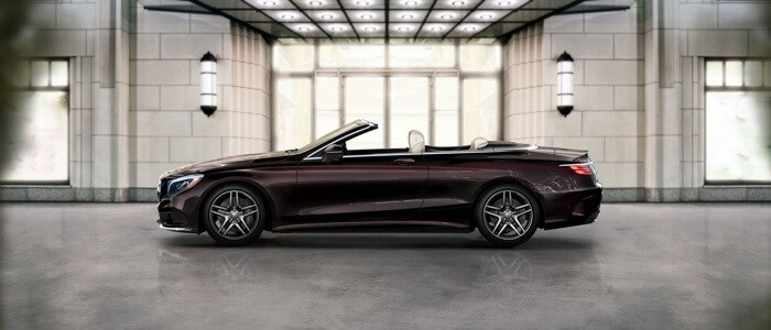 2017 Mercedes-Benz S-Class Cabriolet side view