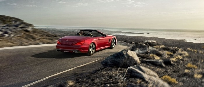 2017 Mercedes-Benz SL Roadster rear view