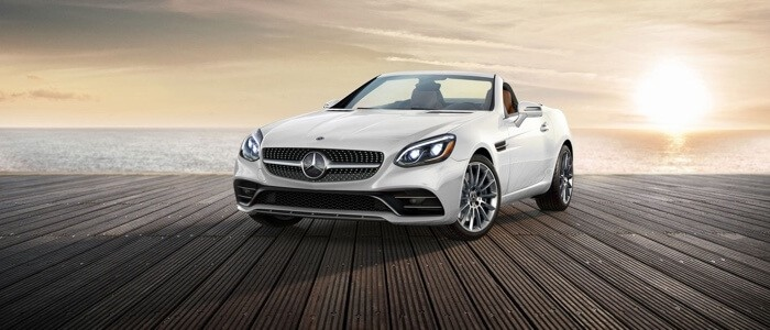 2017 Mercedes-Benz SLC Roadster front view