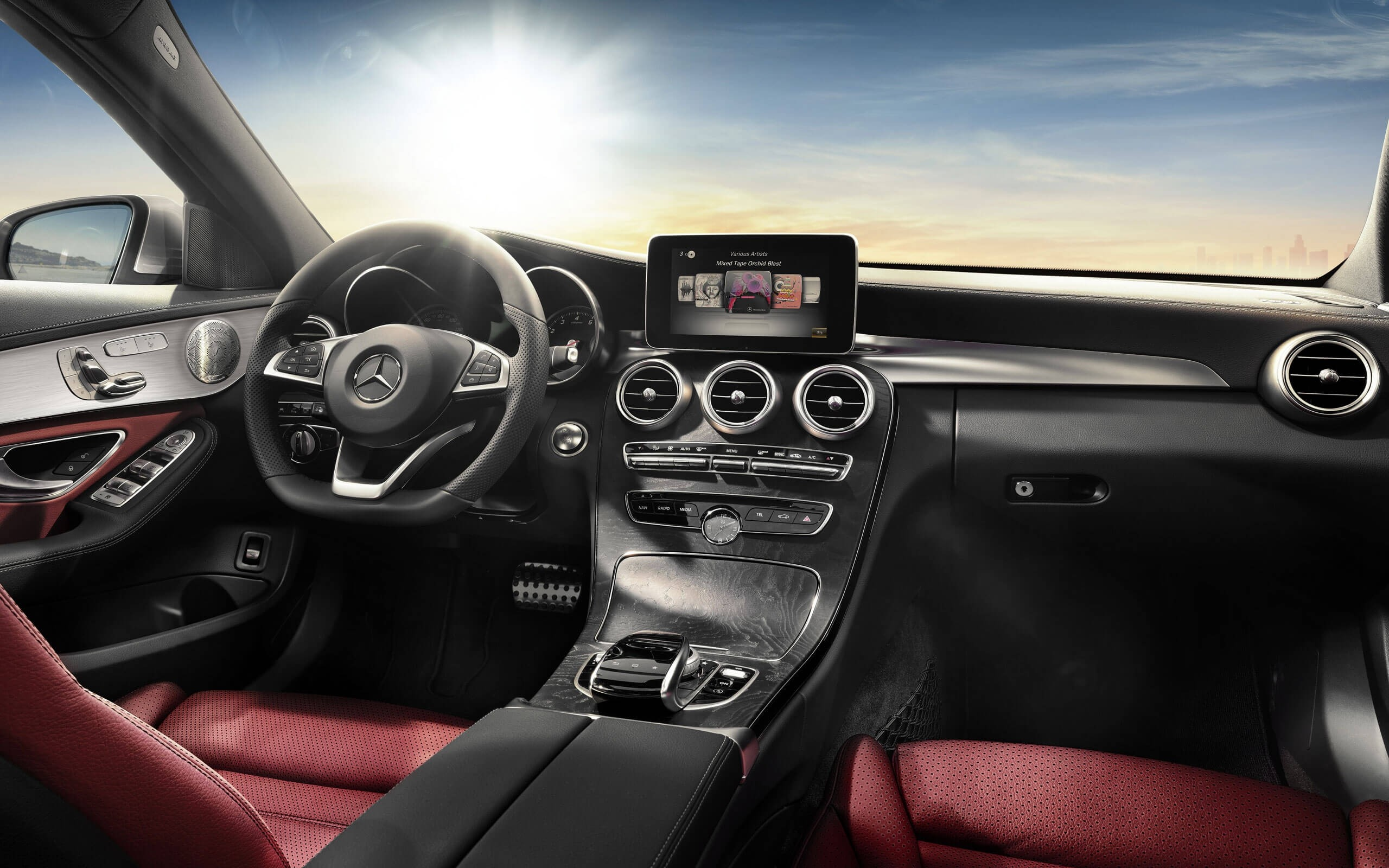 Find Out How The 2017 Mercedes Benz C Class Interior Serves You