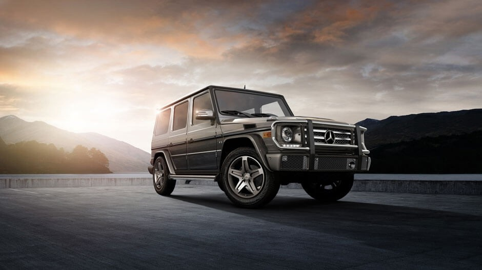 2017 Mercedes-Benz G-Class dark exterior model