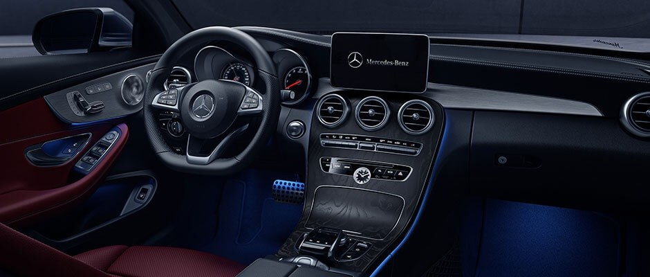 2018 Mercedes-Benz C-Class Cabriolet Interior Features