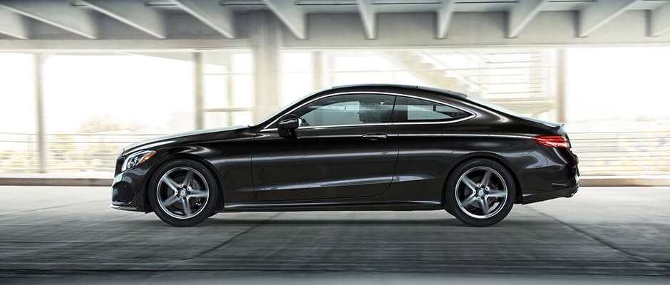 2018 Mercedes-Benz C-Class Coupe Exterior Side View