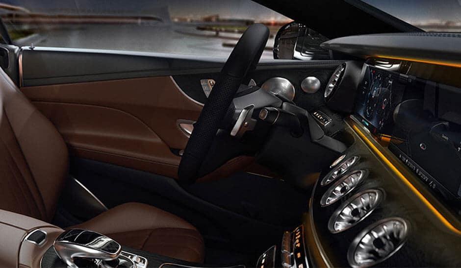 2018 Mercedes-Benz E-Class front interior