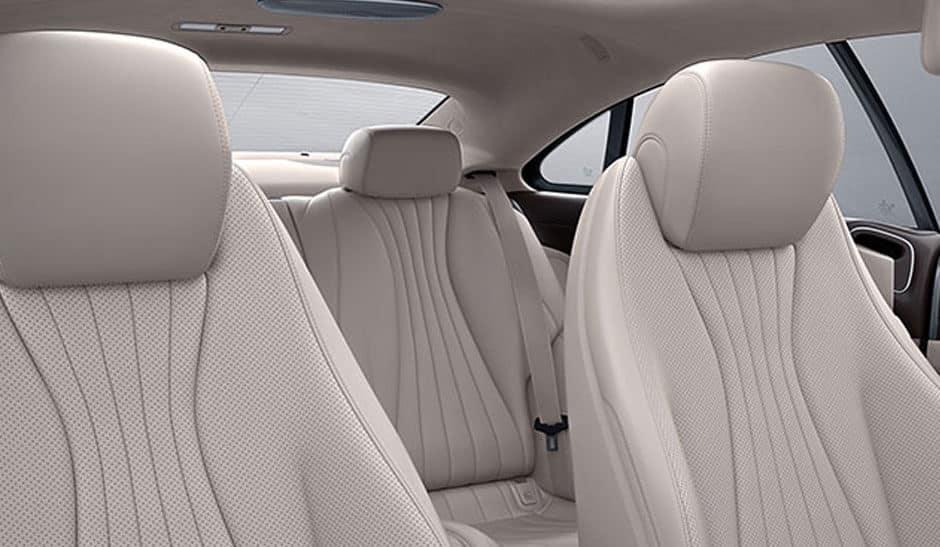 2018 Mercedes-Benz E-Class seating