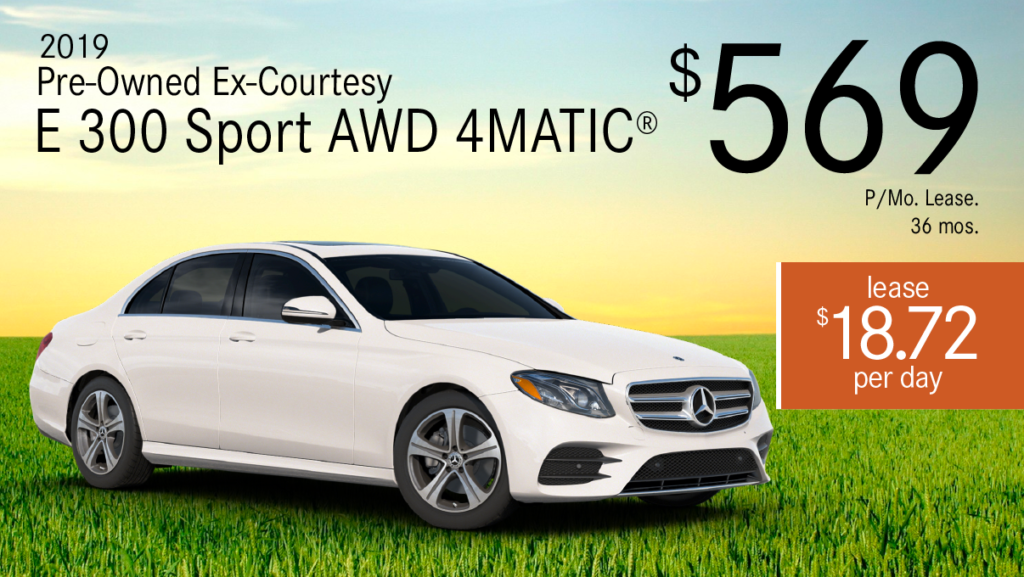 Certified Pre-Owned 2019 E 300 Sport 4MATIC®