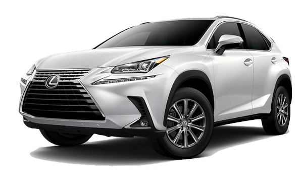 2018 Lexus NX Turbo white background