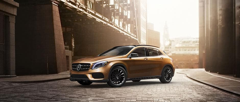 2018 Mercedes-Benz GLA 250 Exterior Side View