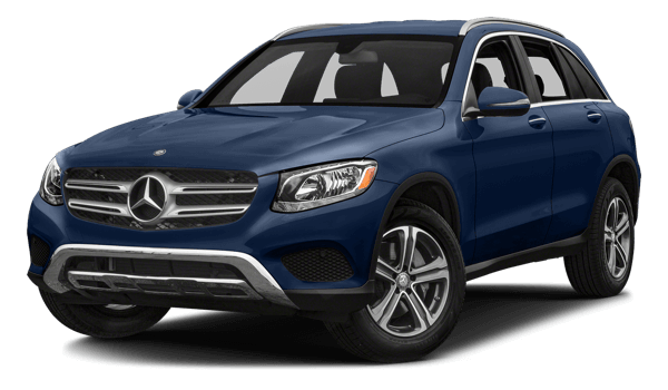 2018 Mercedes-Benz GLC 300 white background