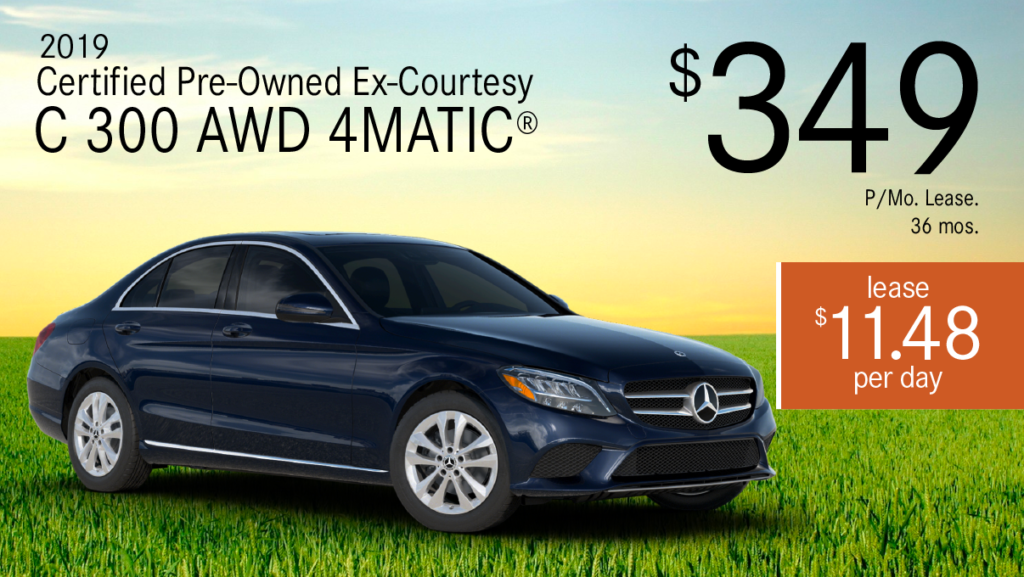 Certified Pre-Owned 2019 C 300 4MATIC®