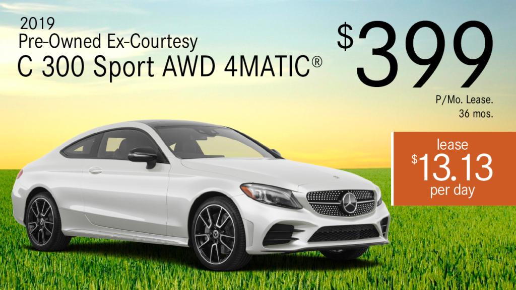 Certified Pre-Owned 2019 C 300 Sport 4MATIC®