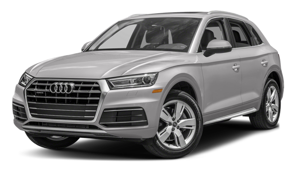 2018 Audi Q5 Premium white background