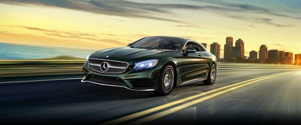 2018 Mercedes-Benz C-Class Coupe front exterior