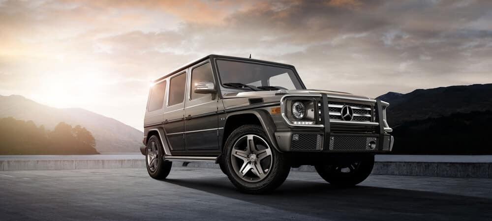 2018 Mercedes-Benz G-Class exterior model