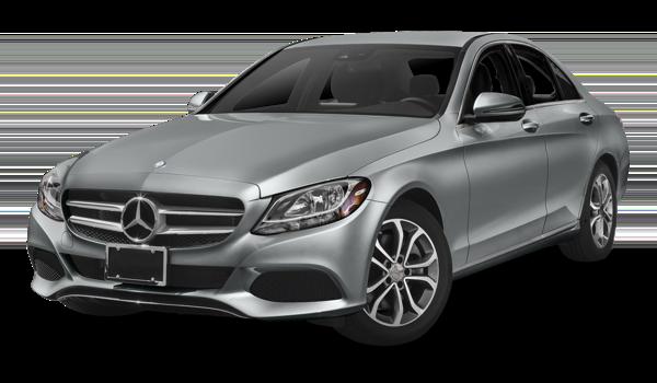2018 Mercedes-Benz C-Class white background