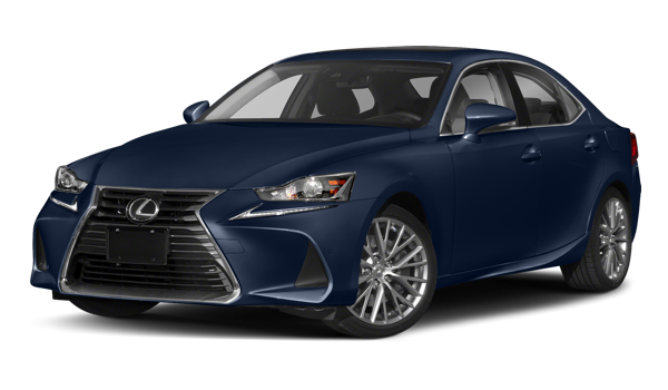 2018 Lexus IS white background