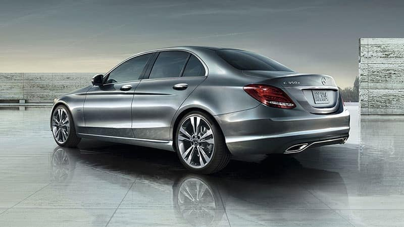 2018 Mercedes-Benz C-Class Sedan rear view exterior