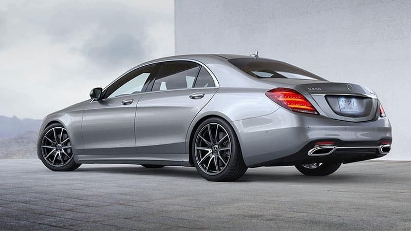 2018 Mercedes-Benz S-Class Sedan rear view