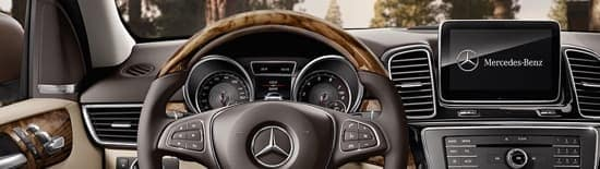 2018 Mercedes-Benz GLE front interior technology features