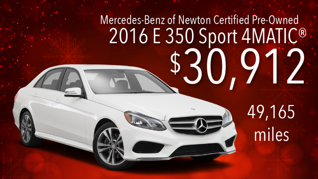 Certified Pre-Owned 2016 E 350 4MATIC®