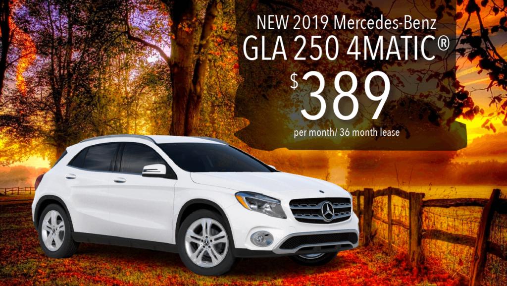 New 2019 GLA 250 4MATIC®