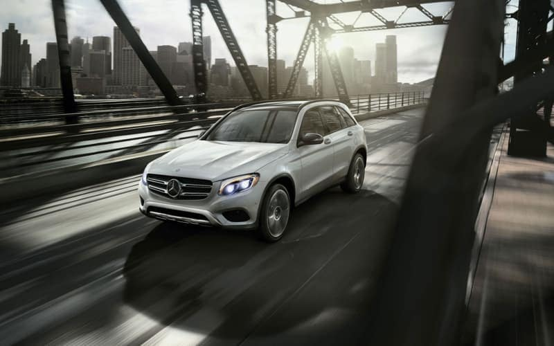 2018 Mercedes-Benz GLC on the road