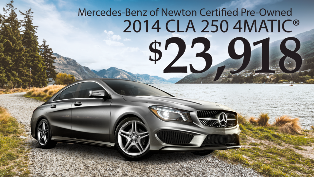 Certified Pre-Owned 2014 CLA 250 4Matic®