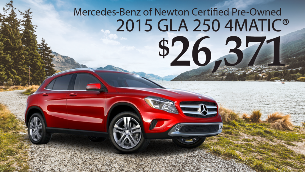 Certified Pre-Owned 2015 GLA 250 4Matic®