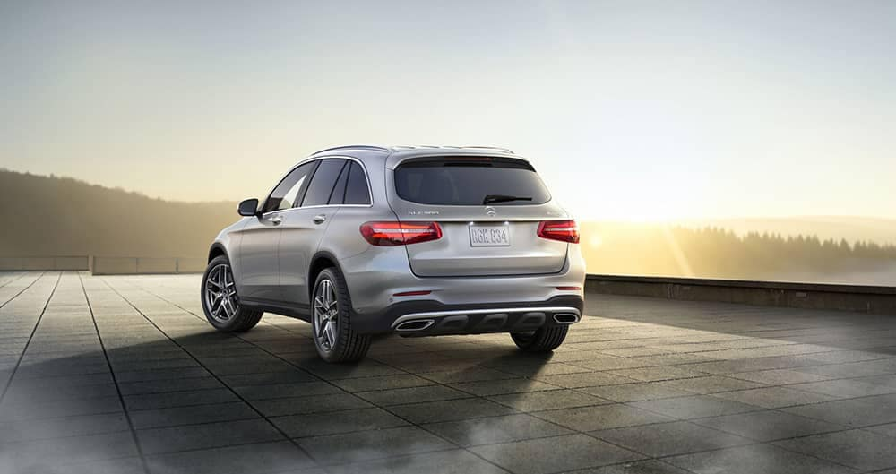 2018 MB GLC Rear