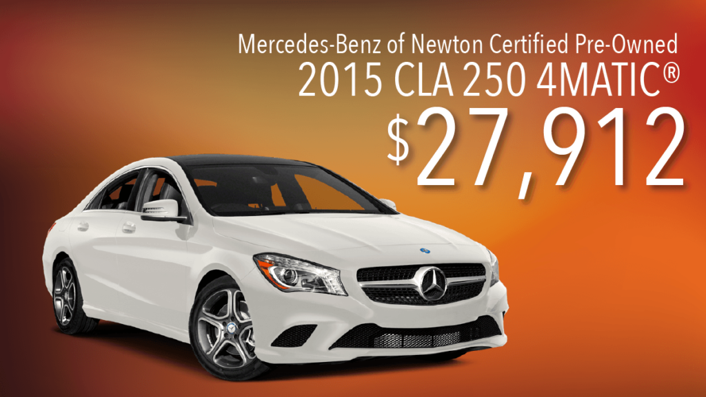 Certified Pre-Owned 2015 CLA 250 4Matic®