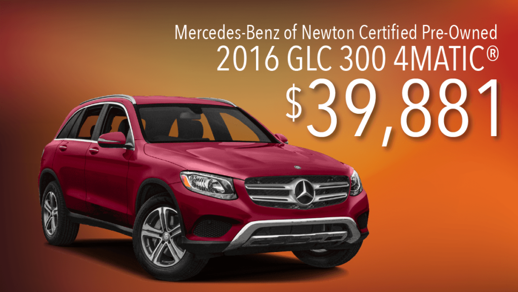 Certified Pre-Owned 2016 GLC 300 4Matic®